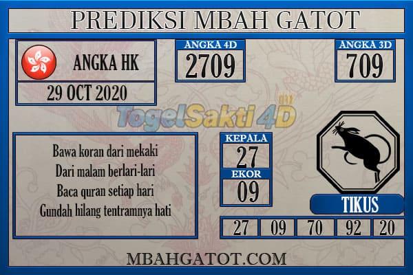 Prediksi HK Kamis 29 Oktober 2020